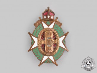 Germany, Imperial. An Old Master of Fencing Badge