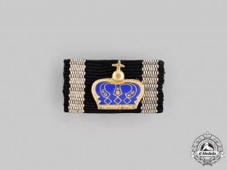 Germany, Federal Republic. A Pour le Mérite, Civil Medal for Arts and Science Ribbon Bar, 1957 Version