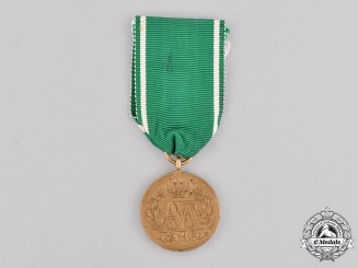 Saxony, Kingdom. A 10-Year Long Service Medal, c.1870