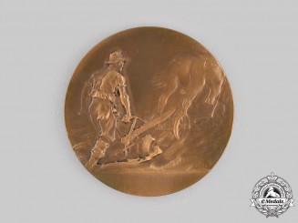 Saxony, Kingdom. An Agricultural Merit Medal, by Friedrich Wilhelm Hörnlein