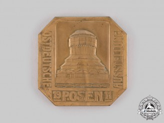 Germany, Imperial. A 1911 Posen Eastern German Exhibition Commemorative Table Medal