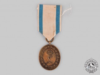 "Bavaria, Kingdom. A 10th Infantry Regiment ""König"" Jubilee Medal"