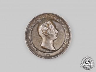 Baden, Grand Duchy. A Baden Agricultural Silver Merit Medal
