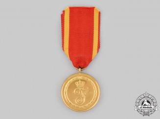 Baden, Grand Duchy. A Long Service Medal, II Class for 12 Years, c.1915