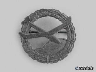 Germany, NSFK. A National Socialist Flyers Corps Model Proficiency Badge, Bronze Grade