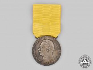 Baden, Grand Duchy. A Silver Merit Medal, c.1910