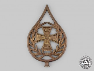 Germany, Imperial. A 1914 Iron Cross Flag Pole Finial