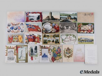 Canada, Dominon. A Lot of Pre-War and First World War Postcards