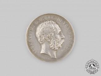 Saxony, Kingdom. A Silver Marksmanship Medal