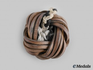 Germany, HJ. A Leather HJ Scarf Knot