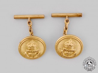 Germany, Imperial. A Pair of Imperial Naval Officer's Cape Clasps