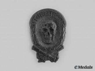 "Austria, Imperial. A Scarce ""Sturmtrupp"" Cap Badge, c.1916"