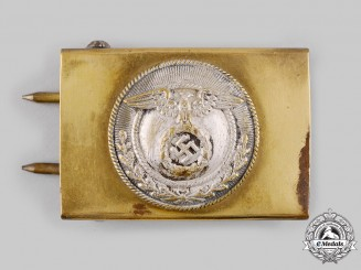 Germany, HJ. A Sturmabteilung- (SA) Style HJ EM/NCO's Belt Buckle