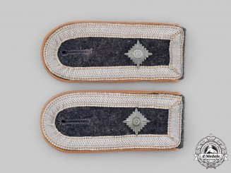 Germany, Luftwaffe. A Set of Communications Unterfeldwebel Shoulder Straps
