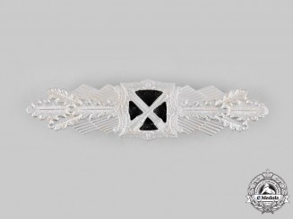 Germany, Wehrmacht. A Close Combat Clasp, Silver Grade, Post-1957 Reissue