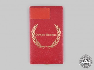 Russia, Soviet Union. An Order of Lenin Case, c.1970