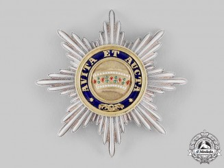 Austria, Imperial. An Order of the Iron Crown, I Class Star, c.1855