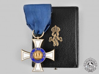 Prussia, Kingdom. An Order of the Crown, III Class Cross in Gold, c.1900