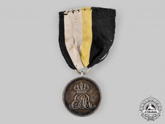 Prussia, Kingdom. A King Ernst August Silver Merit Medal, c.1845