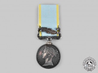United Kingdom. A Crimea Medal 1854-1856