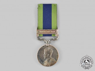 United Kingdom. An India General Service Medal 1908-1935, 3rd Battalion, 14th Punjab Regiment