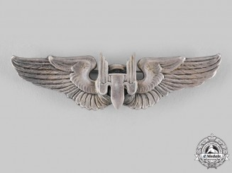 United States. An Army Air Force Air Gunner Badge, c.1943