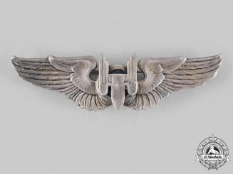 United States. An Army Air Force Air Gunner Badge, c.1943