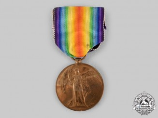Canada, Dominion. A Victory Medal, 260th Infantry Battalion, Canadian Siberian Expeditionary Force