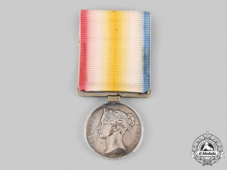United Kingdom. A Jellalabad Medal 1841-1842, Type 2, 13th Regiment (Somerset Light Infantry)