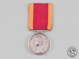 United Kingdom. A China War Medal 1841-1842, to James Hislop, Royal Marines, HMS Wellesley