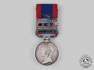United Kingdom. A Sutlej Medal 1845-1846, to William Jones, 3rd (The King's Own) Regiment of (Light) Dragoons