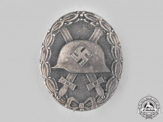 Germany, Wehrmacht. A Wound Badge, Silver Grade, by Glaser & Söhne