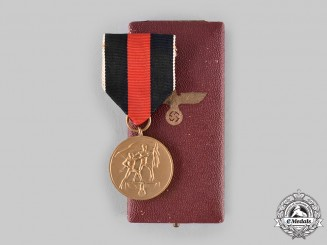Germany, Third Reich. A Sudetenland Medal with Case