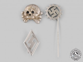 Germany, Third Reich. A lot of Badges and Pins