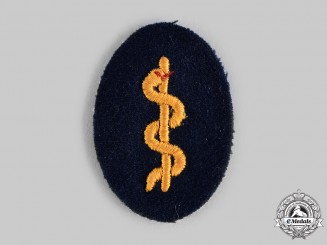 Germany, Kriegsmarine. An EM/NCO Medical Orderly Sleeve Insignia