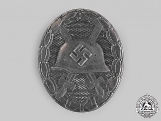 Germany, Wehrmacht. A Wound Badge, Silver Grade, by Steinhauer & Lück