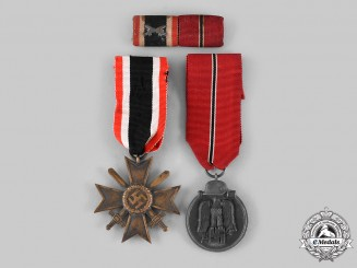 Germany, Wehrmacht. A Pair of Medals & Awards