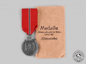 Germany, Wehrmacht. An Eastern Front Medal, by Julius Maurer