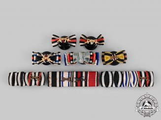 Germany, Imperial. A Lot of Medal Ribbon Bars and Boutonnieres