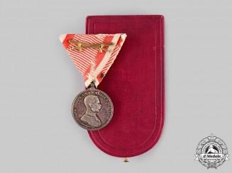 Austria, Empire. A Bravery Medal, Silver Grade Medal, II Class, c.1914