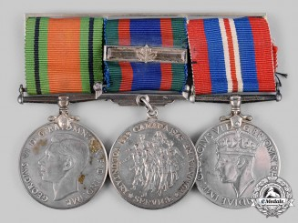 Canada, Commonwealth. A United Kingdom Defence Medal Group
