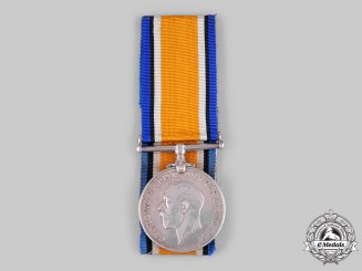 Canada. A First War British War Medal, to Private Thomas Whitehead, 88th Infantry Battalion