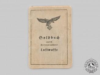 Germany, Luftwaffe. A Soldbuch to Albert Faas, Kampfgeschwader 26