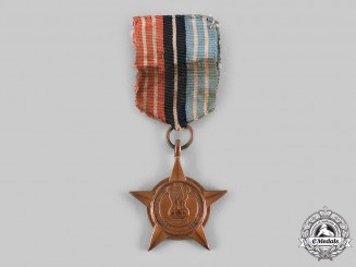 India, Republic. A Poorvi Star, to Rifleman Tula Ram Rai Limbu, 2nd Gorkha Rifles