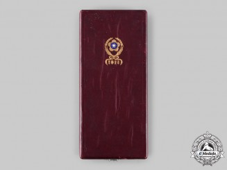 China, Republic. An Order of the Brilliant Star, I Class Case, c.1941