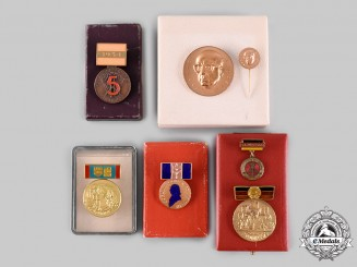 Germany, Democratic Republic (East Germany). A Lot of Five Awards