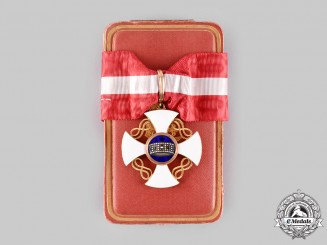 Italy, Kingdom. An Order of the Crown of Italy, I Class Commander in Gold, by Gardino, c.1920