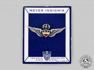 Ecuador, Republic. An Army Air Force Command Pilot Badge