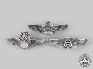 United States. Three Air Force Badges