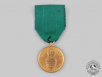 Saxon Duchies. A Rare Long Service Medal for Enlisted Personnel and Non-Commissioned Officers, II Class for 12 Years